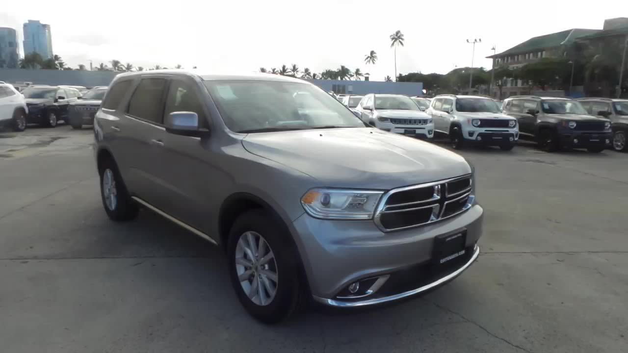 Cutter Dodge Honolulu >> New 2019 Dodge Durango Sxt Rwd