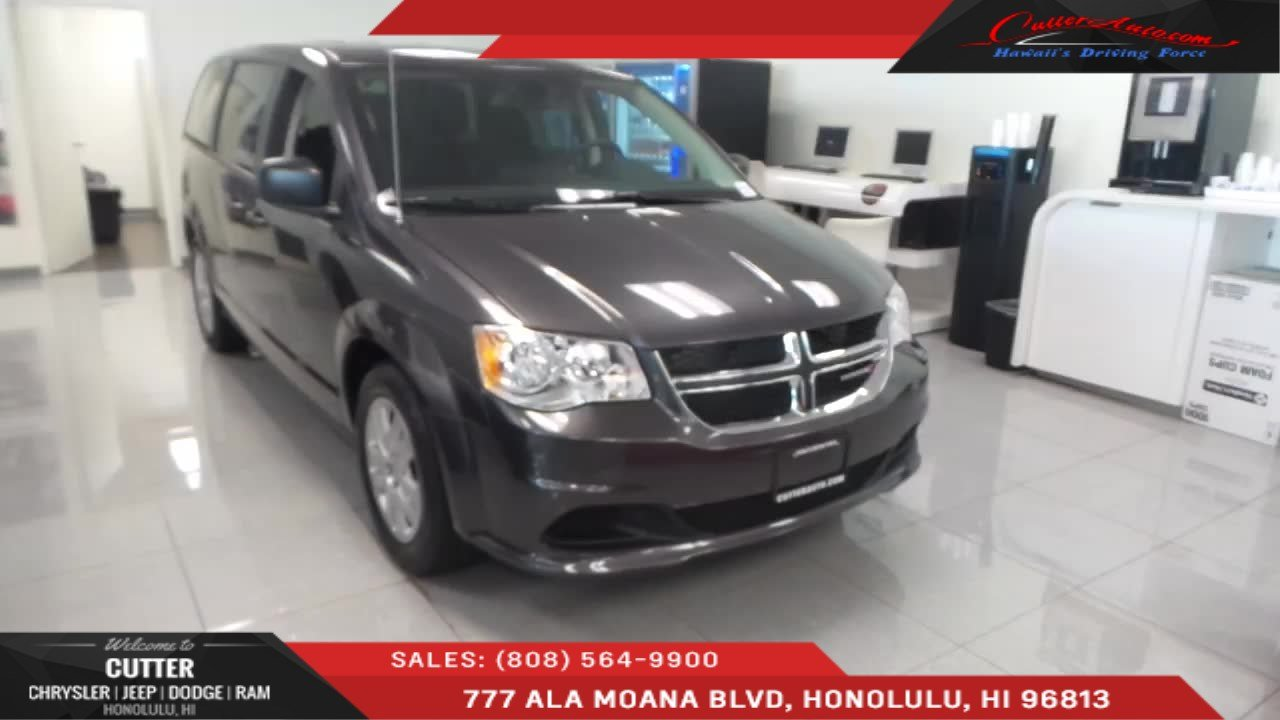 Cutter Dodge Honolulu >> New 2019 Dodge Grand Caravan Se