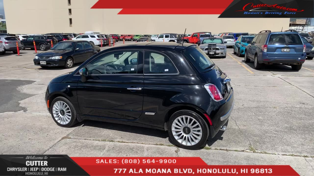 Pre Owned 2017 Fiat 500 Lounge