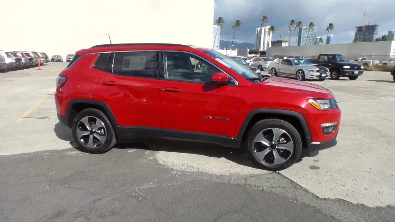 new 2018 jeep compass latitude fwd sport utility in honolulu