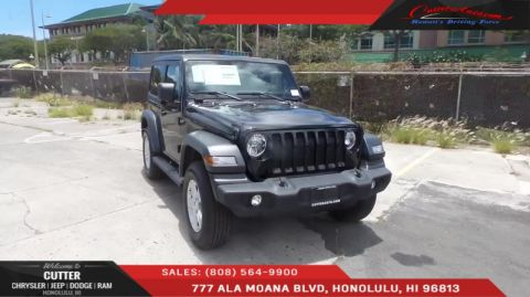 Cutter Dodge Honolulu >> New Jeep Wrangler in Honolulu | Cutter Chrysler Dodge Jeep